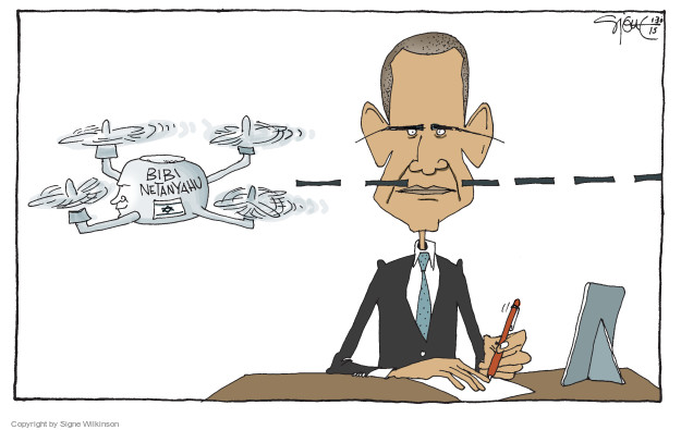 Signe Wilkinson  Signe Wilkinson's Editorial Cartoons 2015-01-30 Barack Obama