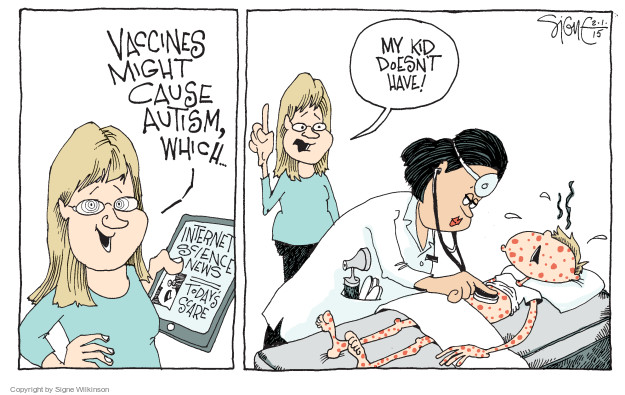 Signe Wilkinson  Signe Wilkinson's Editorial Cartoons 2015-02-01 vaccine