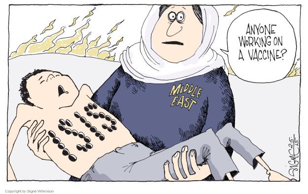 Signe Wilkinson  Signe Wilkinson's Editorial Cartoons 2015-02-05 vaccine