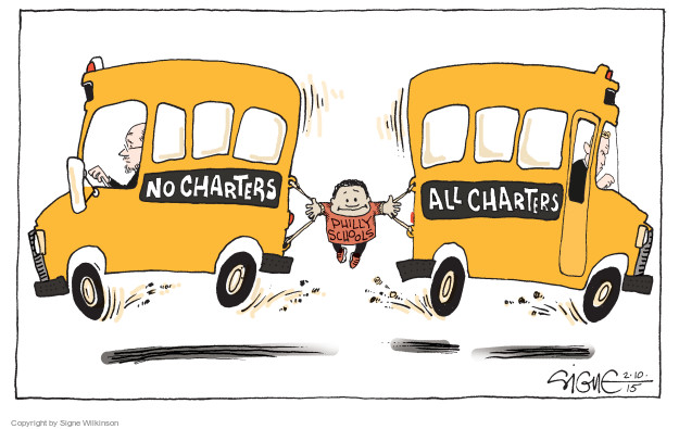 Image result for charter school cartoon