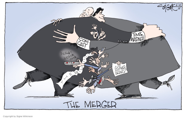 Signe Wilkinson  Signe Wilkinson's Editorial Cartoons 2015-02-13 business