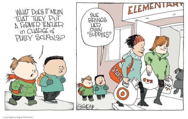 Signe Wilkinson  Signe Wilkinson's Editorial Cartoons 2015-03-03 put