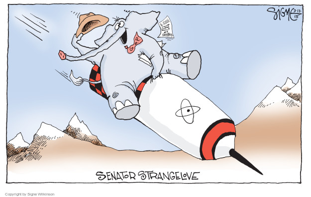 Signe Wilkinson  Signe Wilkinson's Editorial Cartoons 2015-03-13 letter