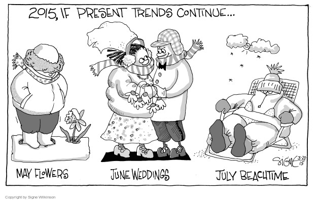 Signe Wilkinson  Signe Wilkinson's Editorial Cartoons 2015-03-25 July