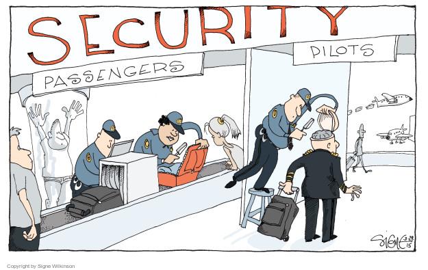Cartoonist Signe Wilkinson  Signe Wilkinson's Editorial Cartoons 2015-03-29 danger