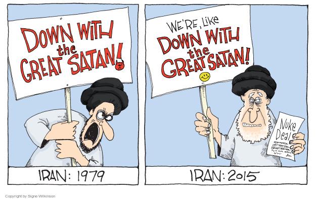 Signe Wilkinson  Signe Wilkinson's Editorial Cartoons 2015-04-06 1970s