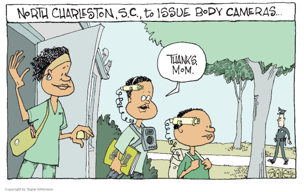 Cartoonist Signe Wilkinson  Signe Wilkinson's Editorial Cartoons 2015-04-14 body