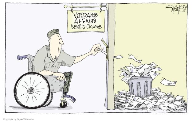 Cartoonist Signe Wilkinson  Signe Wilkinson's Editorial Cartoons 2015-04-24 medical insurance
