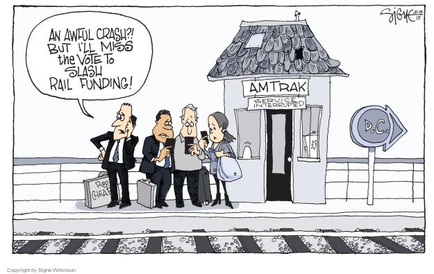 Signe Wilkinson  Signe Wilkinson's Editorial Cartoons 2015-05-14 infrastructure