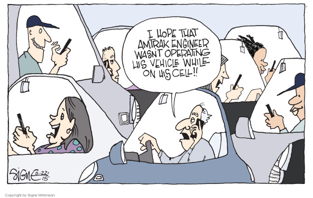 Signe Wilkinson  Signe Wilkinson's Editorial Cartoons 2015-05-22 vehicle
