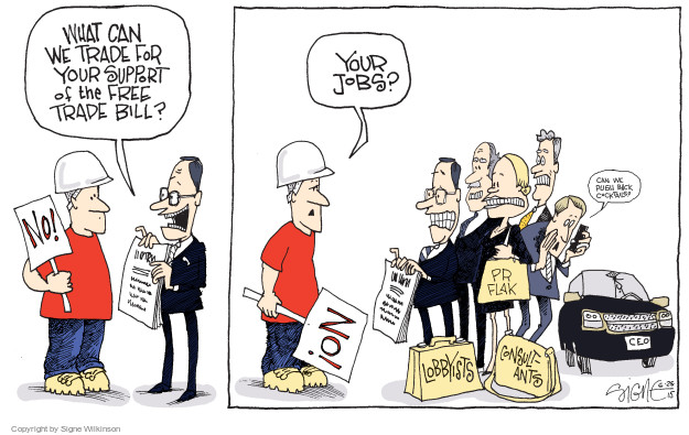 Signe Wilkinson  Signe Wilkinson's Editorial Cartoons 2015-06-25 union