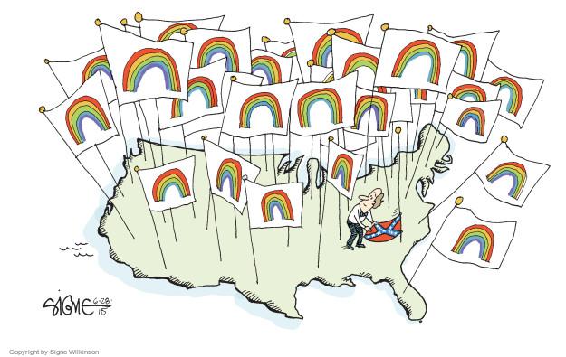 Signe Wilkinson  Signe Wilkinson's Editorial Cartoons 2015-06-28 same