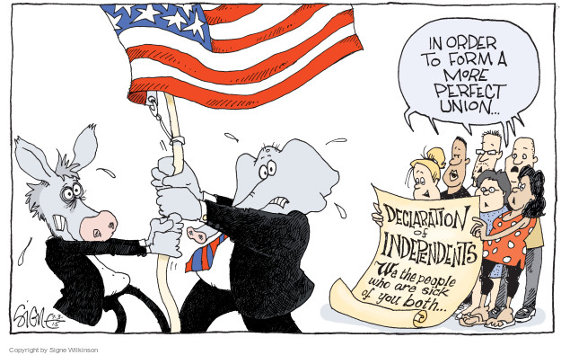 Signe Wilkinson  Signe Wilkinson's Editorial Cartoons 2015-07-03 union
