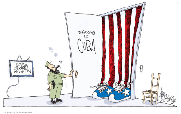 Welcome to Cuba. Home Sweet Revolution.