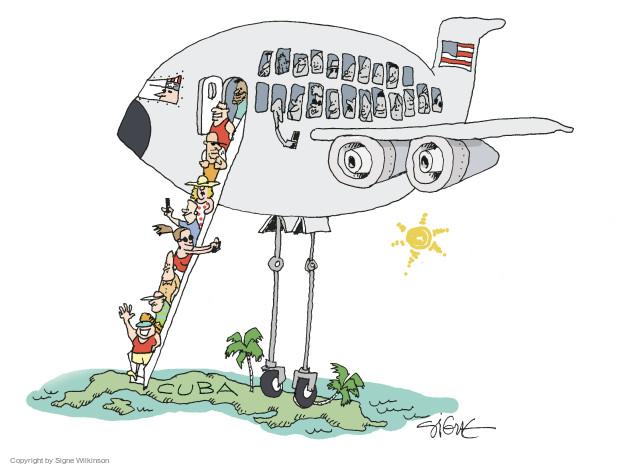 Signe Wilkinson  Signe Wilkinson's Editorial Cartoons 2015-07-09 diplomacy
