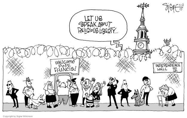 Signe Wilkinson  Signe Wilkinson's Editorial Cartoons 2015-07-12 independence
