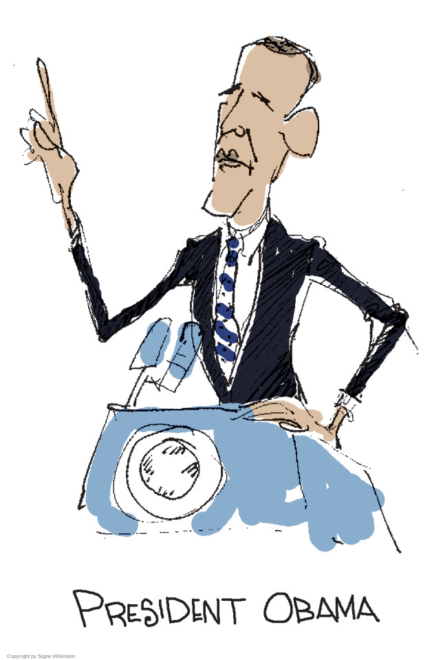 Signe Wilkinson  Signe Wilkinson's Editorial Cartoons 2015-07-17 Barack Obama
