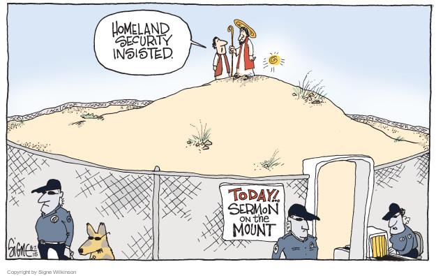 Signe Wilkinson  Signe Wilkinson's Editorial Cartoons 2015-08-07 political leader
