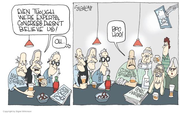 Cartoonist Signe Wilkinson  Signe Wilkinson's Editorial Cartoons 2015-08-16 nuclear