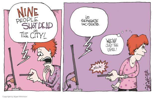 Signe Wilkinson  Signe Wilkinson's Editorial Cartoons 2015-10-10 news