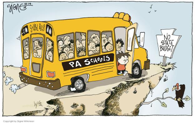 Signe Wilkinson  Signe Wilkinson's Editorial Cartoons 2015-10-14 political system
