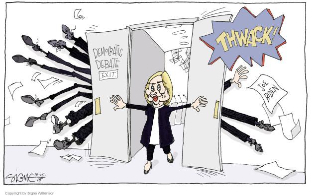 Signe Wilkinson  Signe Wilkinson's Editorial Cartoons 2015-10-15 2016 Election Joe Biden