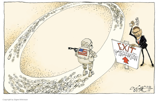 Signe Wilkinson  Signe Wilkinson's Editorial Cartoons 2015-10-18 Barack Obama