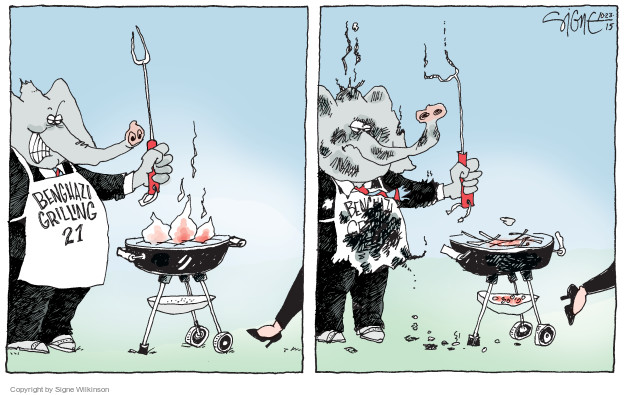 Signe Wilkinson  Signe Wilkinson's Editorial Cartoons 2015-10-23 candidate