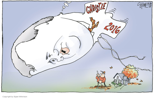 Signe Wilkinson  Signe Wilkinson's Editorial Cartoons 2015-10-30 candidate