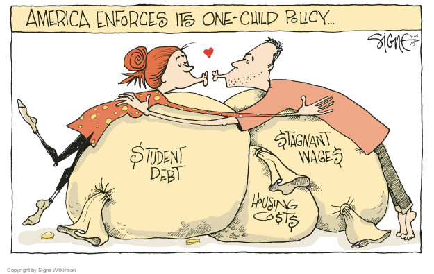 Signe Wilkinson  Signe Wilkinson's Editorial Cartoons 2015-11-06 money