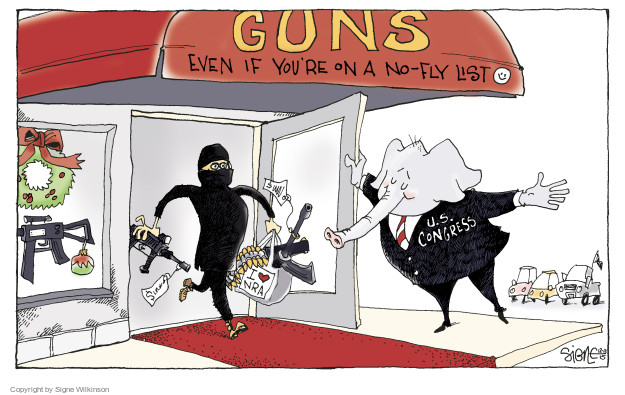 Signe Wilkinson  Signe Wilkinson's Editorial Cartoons 2015-12-10 association