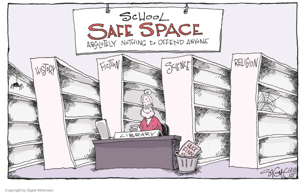 Signe Wilkinson  Signe Wilkinson's Editorial Cartoons 2015-12-13 absolutely