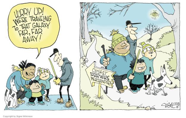 Cartoonist Signe Wilkinson  Signe Wilkinson's Editorial Cartoons 2015-12-20 movie