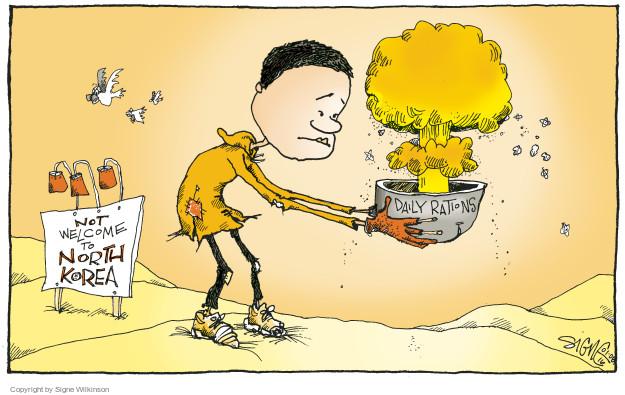 Cartoonist Signe Wilkinson  Signe Wilkinson's Editorial Cartoons 2016-01-08 nuclear