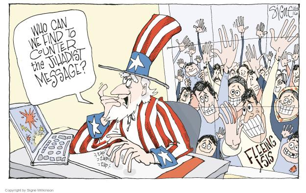 Signe Wilkinson  Signe Wilkinson's Editorial Cartoons 2016-01-14 tap