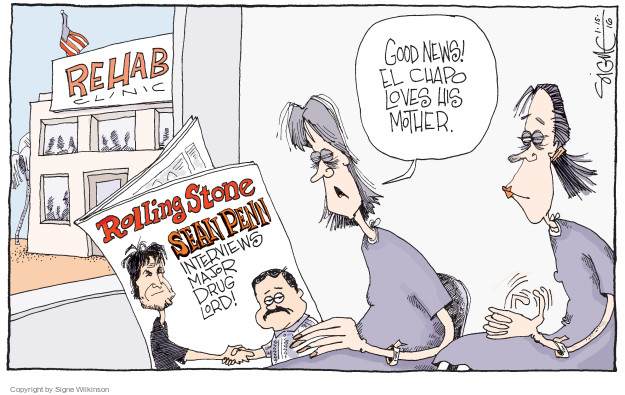 Cartoonist Signe Wilkinson  Signe Wilkinson's Editorial Cartoons 2016-01-16 mother