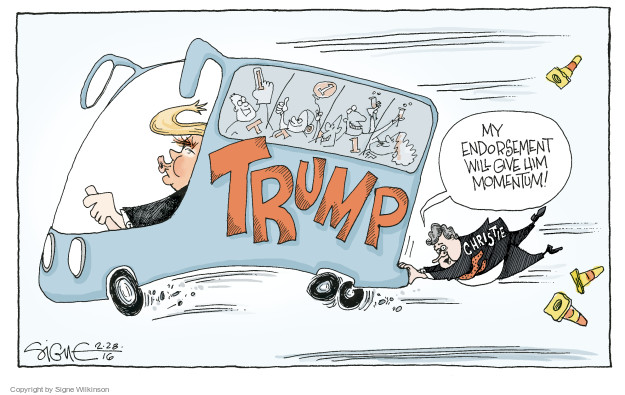 Signe Wilkinson  Signe Wilkinson's Editorial Cartoons 2016-02-28 candidate