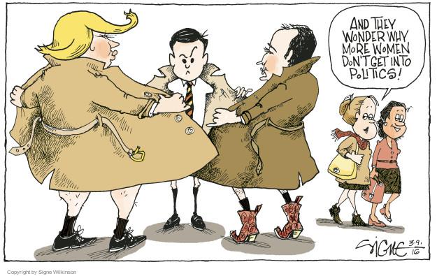 Signe Wilkinson  Signe Wilkinson's Editorial Cartoons 2016-03-09 2016 election Marco Rubio
