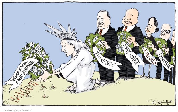 Signe Wilkinson  Signe Wilkinson's Editorial Cartoons 2016-03-23 Ivory Coast