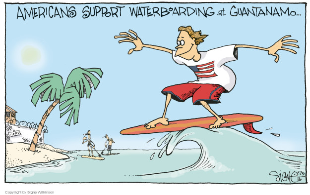 Cartoonist Signe Wilkinson  Signe Wilkinson's Editorial Cartoons 2016-03-25 support