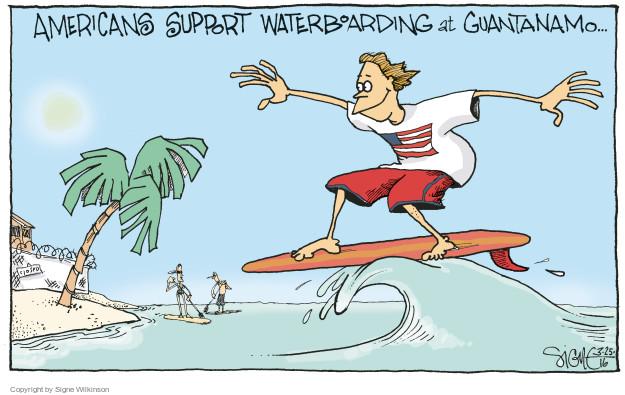 Cartoonist Signe Wilkinson  Signe Wilkinson's Editorial Cartoons 2016-03-25 support