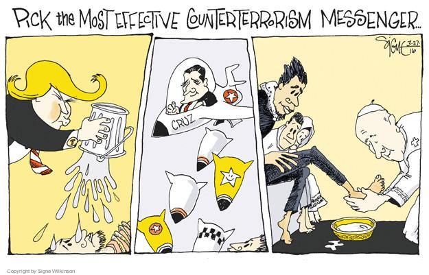 Signe Wilkinson  Signe Wilkinson's Editorial Cartoons 2016-03-27 human rights