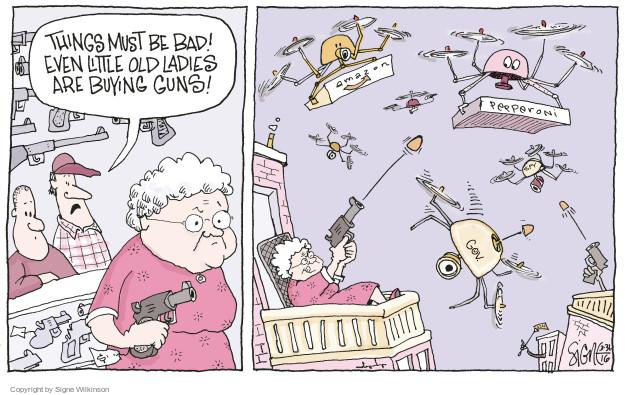Signe Wilkinson  Signe Wilkinson's Editorial Cartoons 2016-03-31 commerce