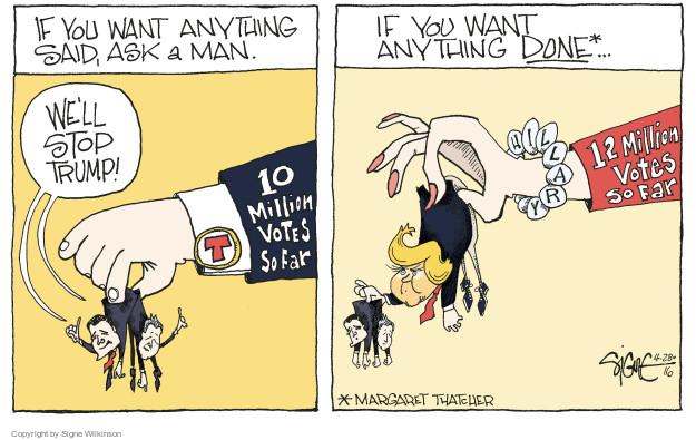 Signe Wilkinson  Signe Wilkinson's Editorial Cartoons 2016-04-28 action