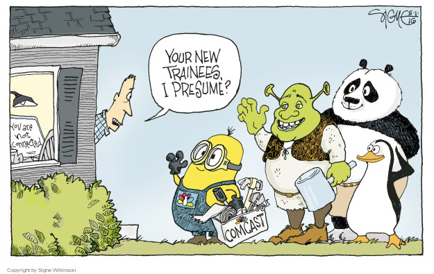 Signe Wilkinson  Signe Wilkinson's Editorial Cartoons 2016-05-01 media