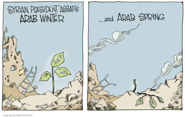 Signe Wilkinson  Signe Wilkinson's Editorial Cartoons 2016-05-06 Middle East