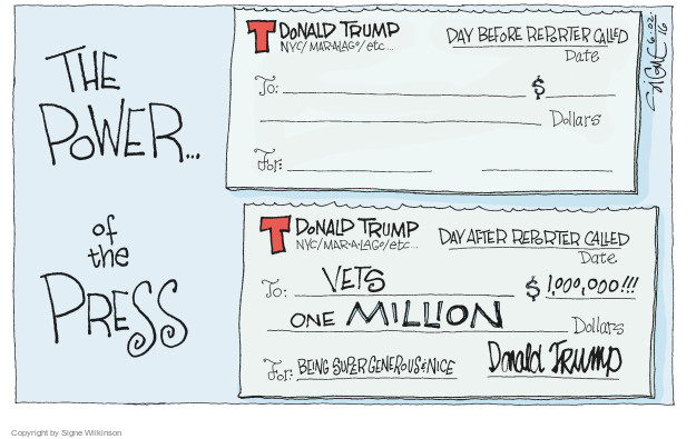 Signe Wilkinson  Signe Wilkinson's Editorial Cartoons 2016-06-02 journalist