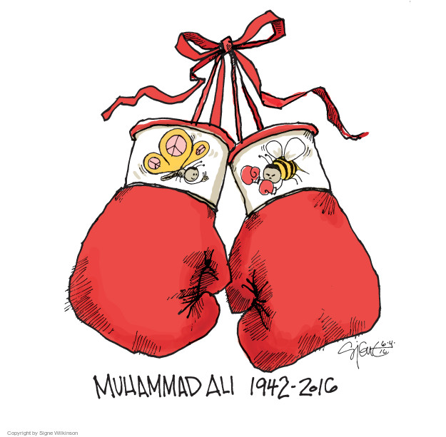 Signe Wilkinson  Signe Wilkinson's Editorial Cartoons 2016-06-06 boxing