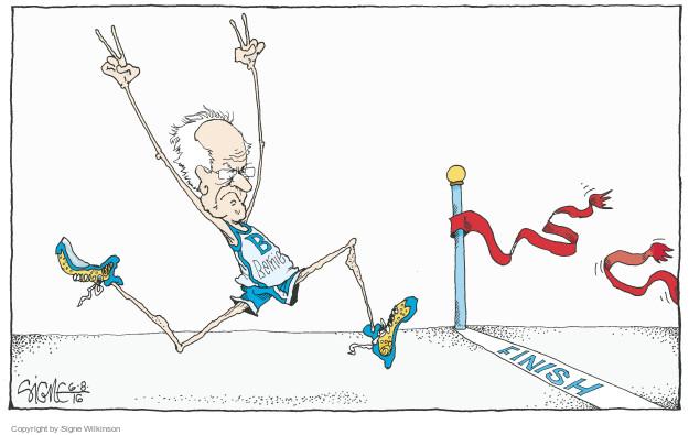 Signe Wilkinson  Signe Wilkinson's Editorial Cartoons 2016-06-08 Bernie Sanders