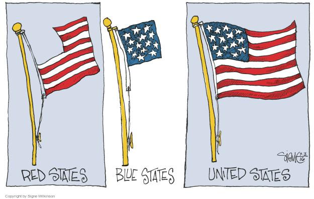 Cartoonist Signe Wilkinson  Signe Wilkinson's Editorial Cartoons 2016-07-03 editorial
